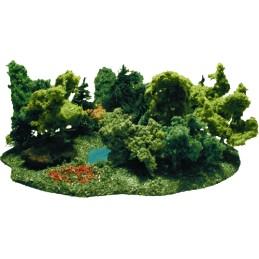 K/097 - Zestaw drzew - las