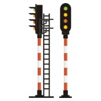 Sygnały świetlne PKP z diodami LED 3 mm