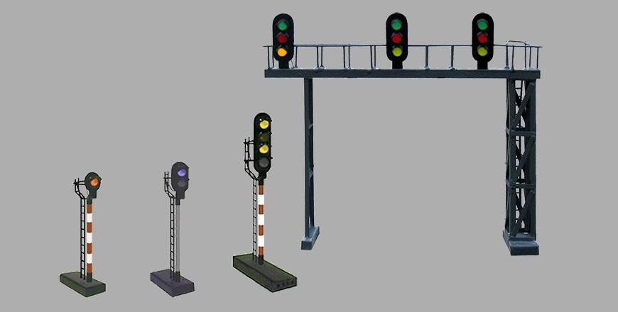 Sygnały świetlne PKP z diodami LED 5 mm